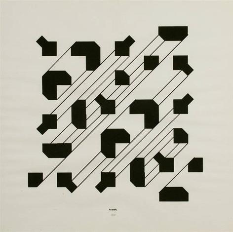 bruno munari  Curve di Peano by Bruno Munari on artnet