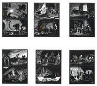 den sovende hundestad (portfolio of 6) by thomas arnel