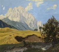 wettersteinspitzen by otto bauriedl