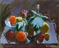 stillleben mit früchten by robin christian andersen