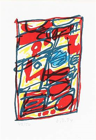 composition by jean dubuffet