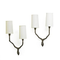 sconces (pair) by felix agostini