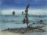 landschaft by casper walter rauh