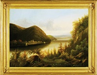 hudson river and west point promontory by american school-hudson river (19)