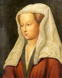 bust of a woman by jan van eyck
