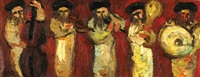 the klezmer players by isaac frenel
