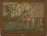 autumn in normandy by george le meilleur