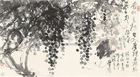 葡萄 the grape by liu haisu