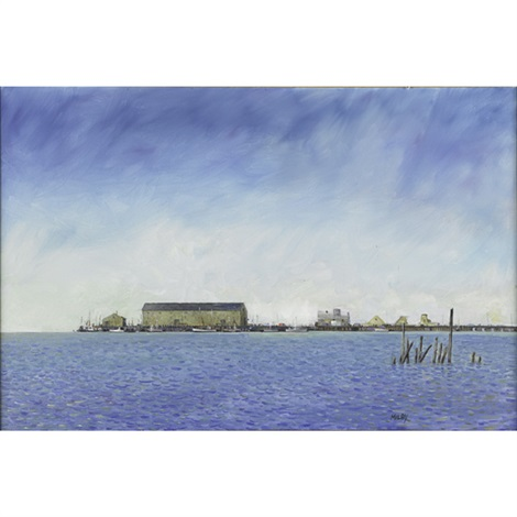 the old mcmillan wharf by frank milby