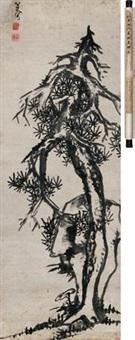 三寿图 by bada shanren