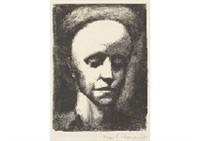 autoportrait ii by georges rouault