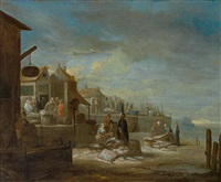 fischmarkt am hafen by anonymous-italian (17)