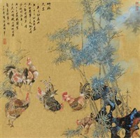 竹鸡 by jiang wei