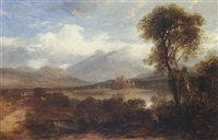 where the two rivers meet: the severn and avon near newham, gloucestershire, 1854 by anne gibson (bennett) nasmyth