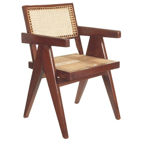 armchair by pierre jeanneret
