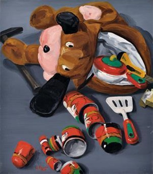 小玩具套娃娃 toys by yu hong