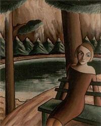 flickan på parkbänken by carl birger höög