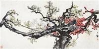 梅花双雀 by liang zhanfeng