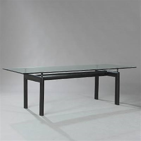 lc 6 dining table by le corbusier