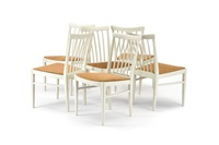 suite de six chaises herrgarden (set of 6) by carl malmsten