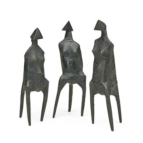 elecktra (3 works) by lynn chadwick