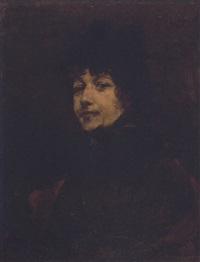 damenporträt by elimar ulrich bruno piglhein