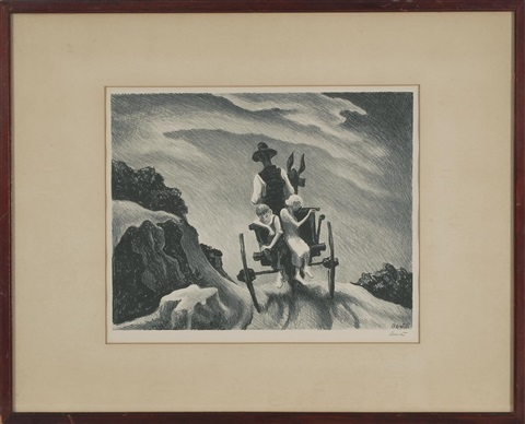goin home by thomas hart benton