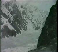 monte bianco, ghiacciaio by cesare viazzi