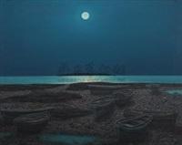 海上升明月 (moonlight on the sea) by hu jiancheng