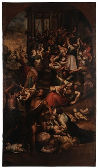 massacre of the innocents by flemish school (17)
