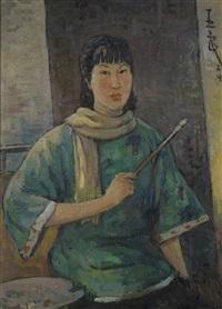 self portrait by pan yuliang