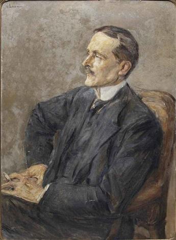 bildnis reichsminister des auswärtigen amts ulrich graf brockdorff rantzau 1869 1928 by max liebermann