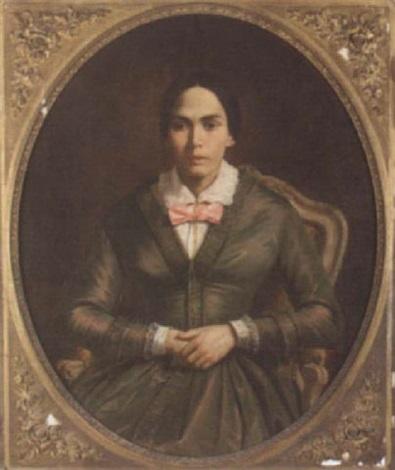 portrait of a lady by alphonse honein