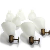 three wall lamps (set of 3) by kaj gottlob