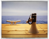 nautical scene with loudhailer by rodney graham