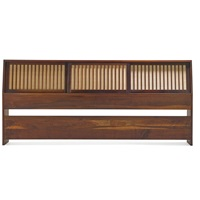 king-size headboard by george nakashima