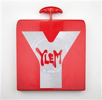 ylem (plastic case with 120 sheets of designs and ideas by the artist) by luigi colani