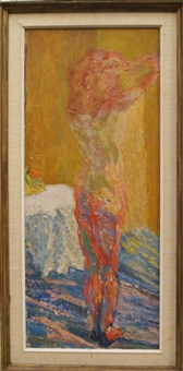 standing nude by henryk gotlib