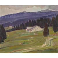 paysage jurassien by françois louis jacques