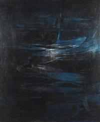 blue horse by karl otto götz