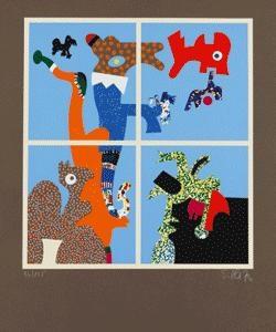 traumfenster (5 works) by otmar alt