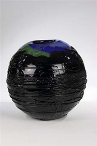 kugelvase earth by chuzaburo ishibashi
