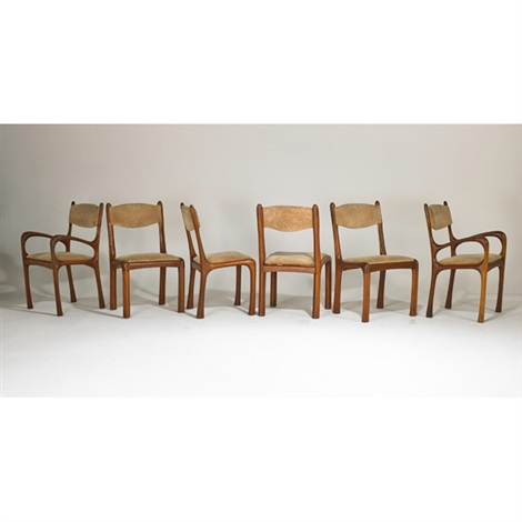 chairs set of 6 by arthur espenet carpenter