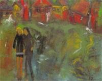 ein junges paar verläßt die stadt by horst lesniewicz