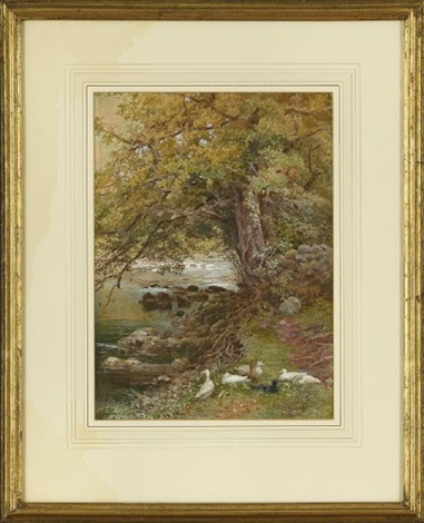 on the llugny north wales by isabel oakley naftel