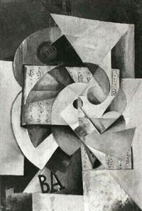 ohne titel (komposition) by petr efimovich sokolov