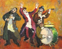 klezmer players by ed adler