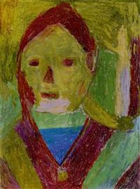 young woman by anton dobay
