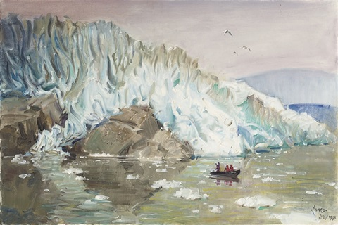 arctic exploration by terence cuneo