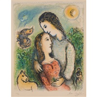 les adolescents by marc chagall